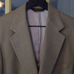 VTG 90s Brooks Brothers 100% Silk Blazer